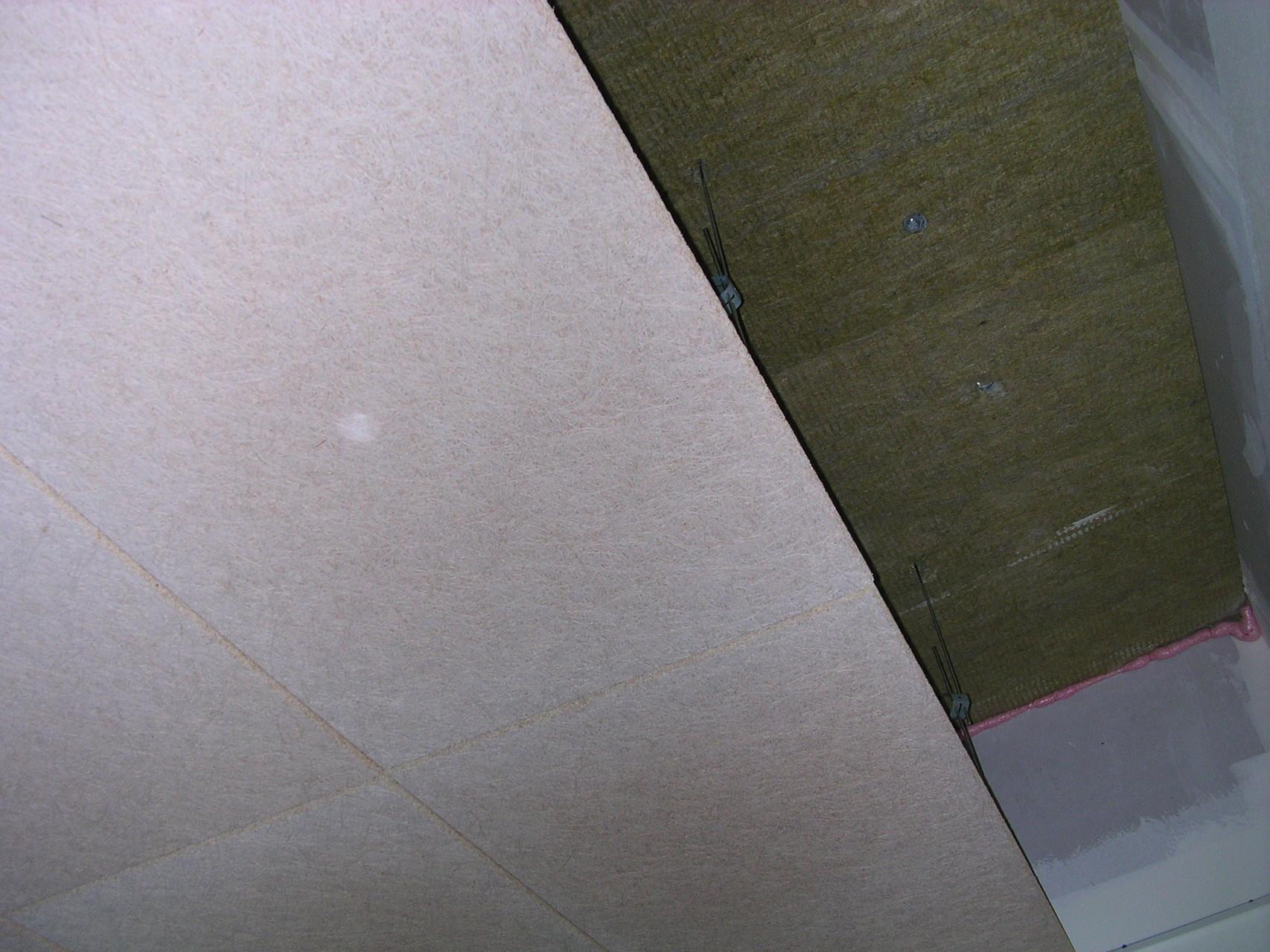 plafond organique ossature cachée