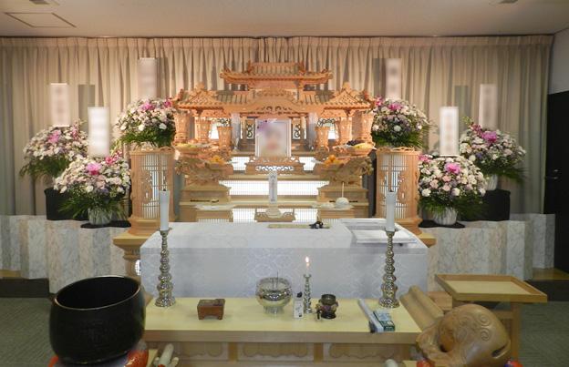 第二式場 常設白木祭壇使用イメージ