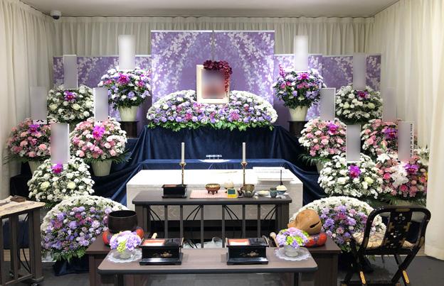 ホール内花祭壇イメージ