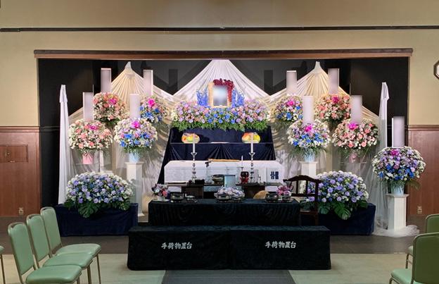 第二式場(小ホール)祭壇イメージ