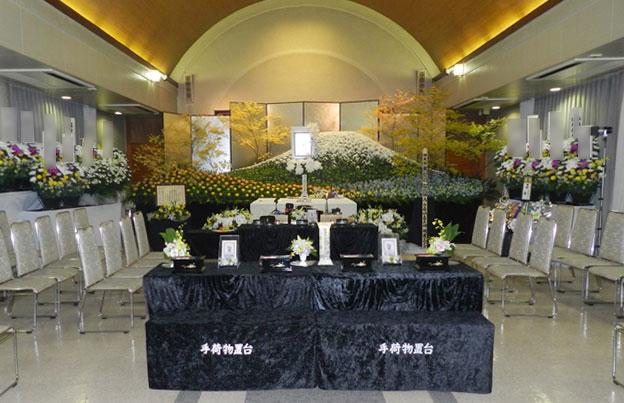ホール内・祭壇例①