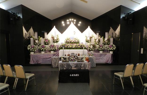 小式場(白雲)ホール内祭壇イメージ