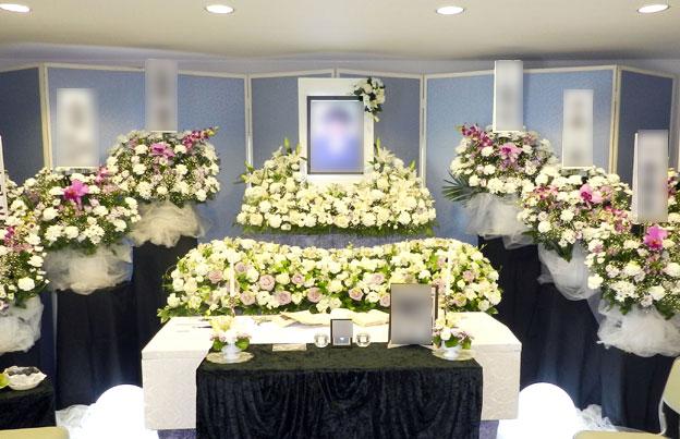 別館・みのり、ホール内祭壇イメージ