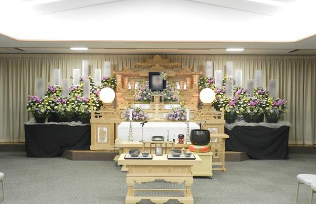第一式場 常設白木祭壇使用イメージ