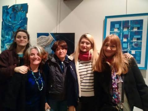 Claudia Bursuk, Alicia Benitez, María Lourdes Legaz