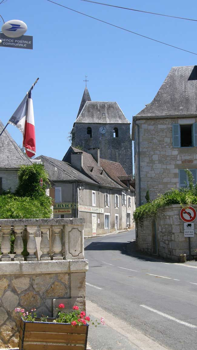 Tourtoirac village