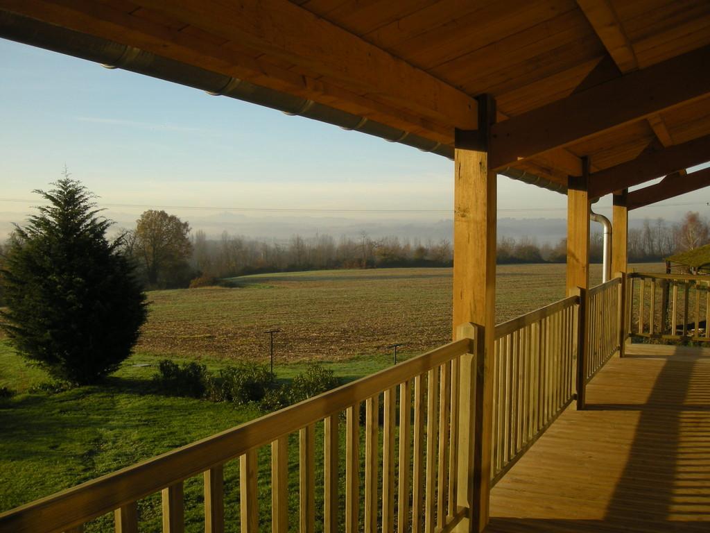 Le balcon vu du salon