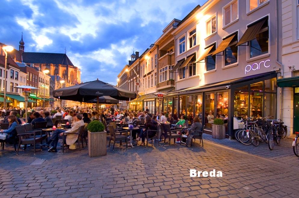 De grote markt Breda