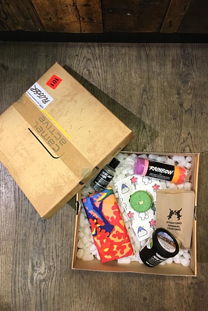 Lush Verpackungen