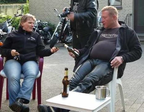 Nach der Tour durfte man ja dann ein Bierchen, oder 2 oder 3 ...