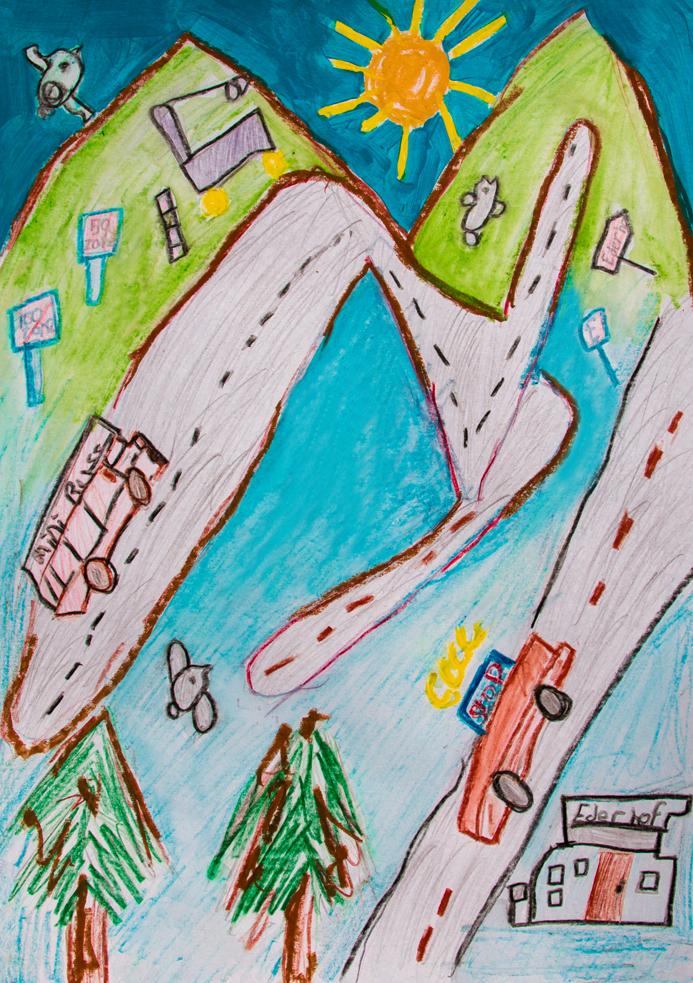 gemalt von Muhammed G. 8 Jahre