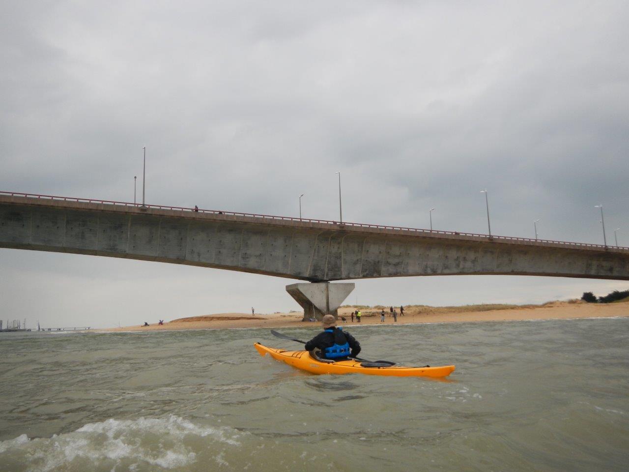 Le pont, la fin du voyage