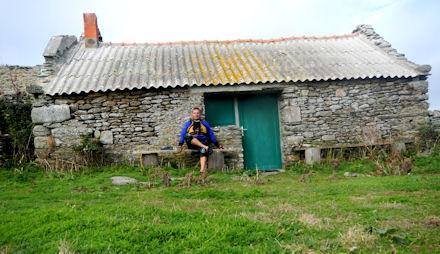 La petite maison d'accueil de l'Espace naturel sensible... fermée à cette saison