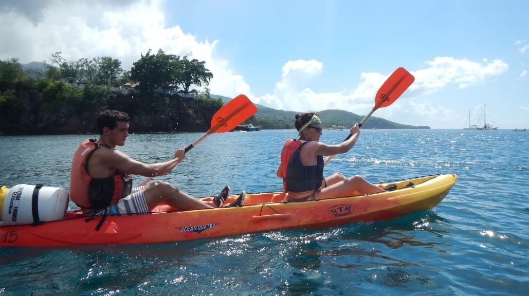Parce que si loin, je n'avais pas mon kayak fétiche....