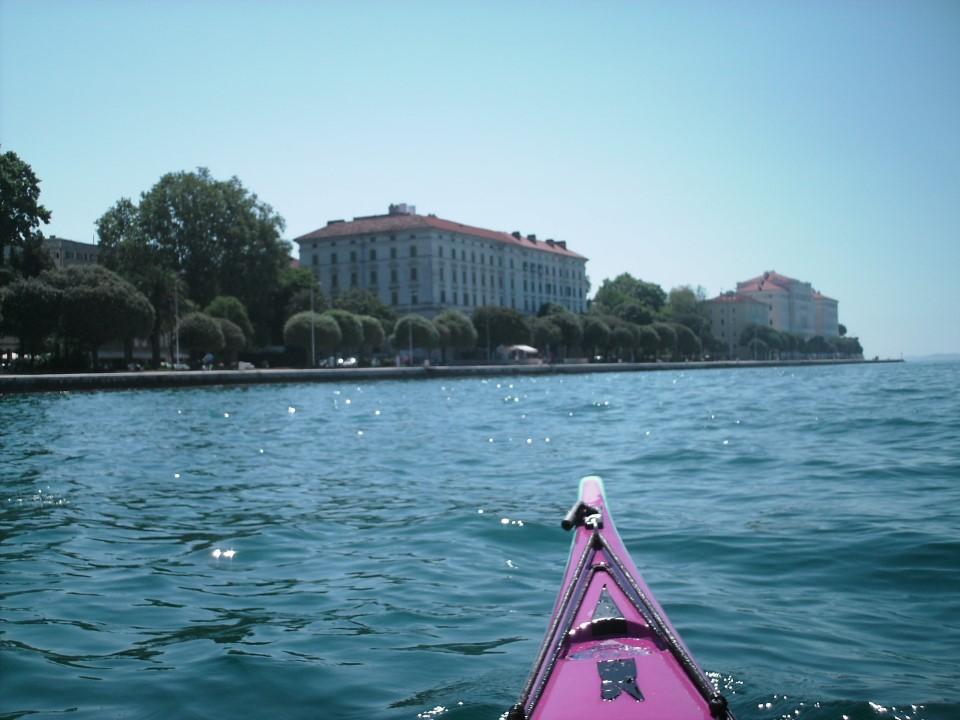 Zadar, point de départ et d'arrivée de notre périple de 14 jours.