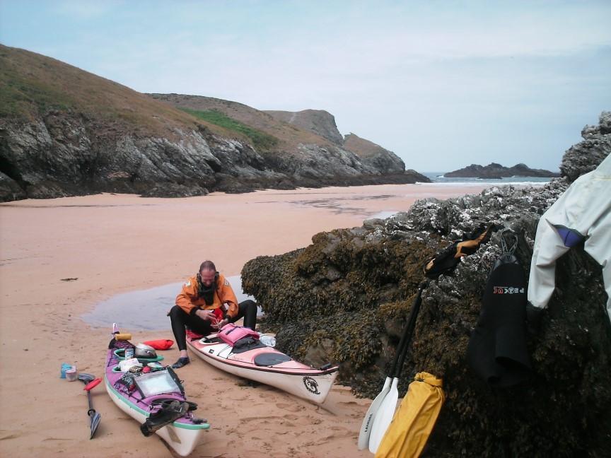 Répis en fond de plage