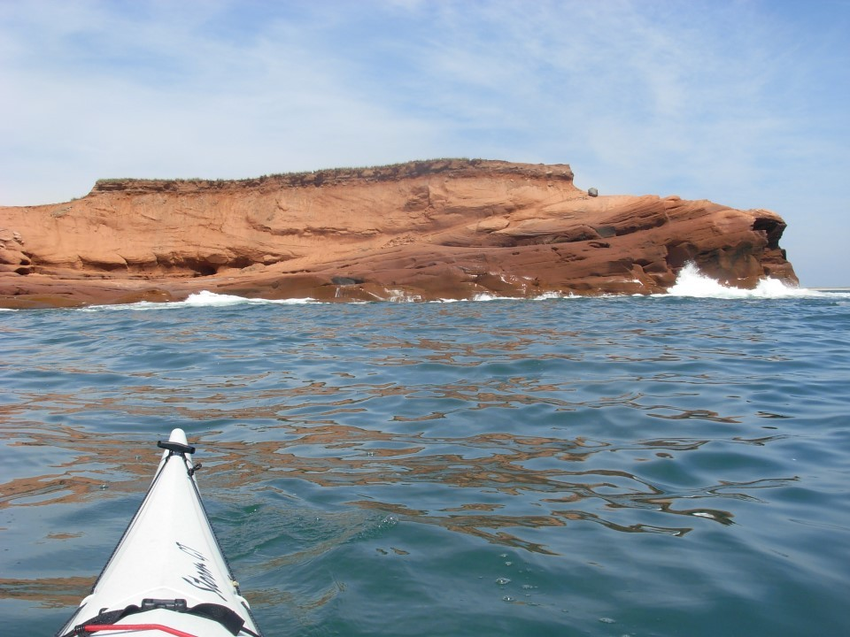 Le long des côtes si singulière, ici le Cap Harry