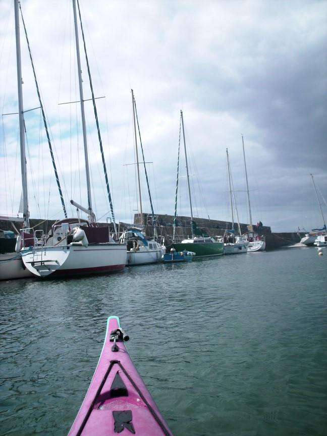 Le port en eau