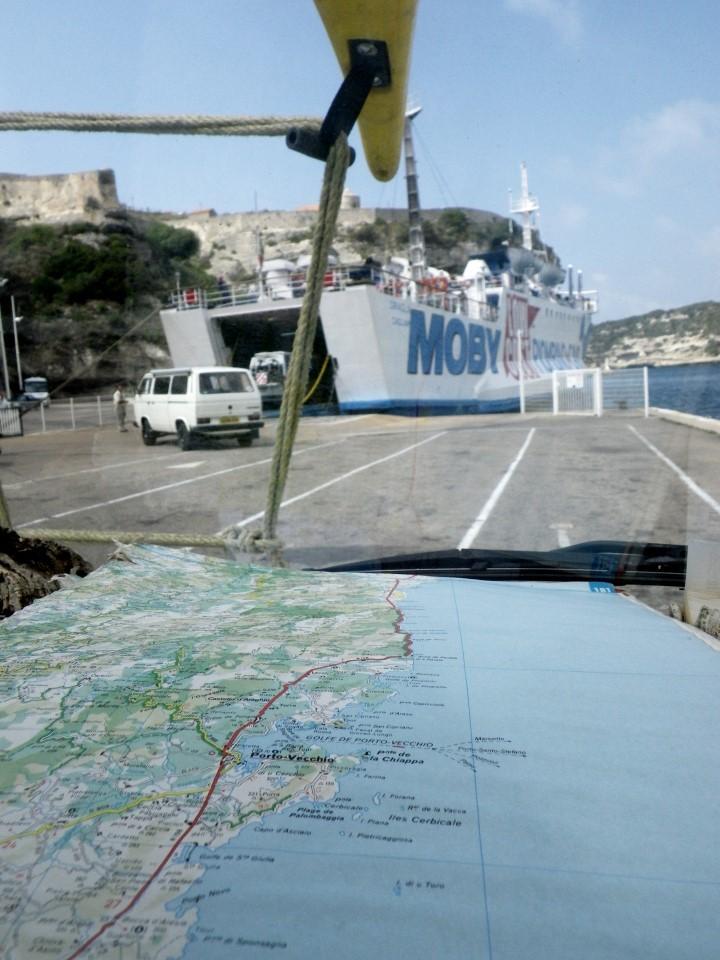Embarquement à Bonifacio - Sud Corse