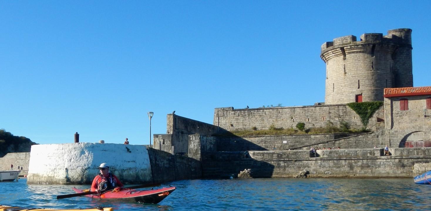 Le fort de Socoa, coté Ciboure