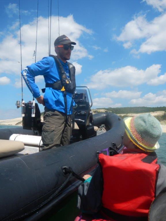 Un guide de pêche pro !