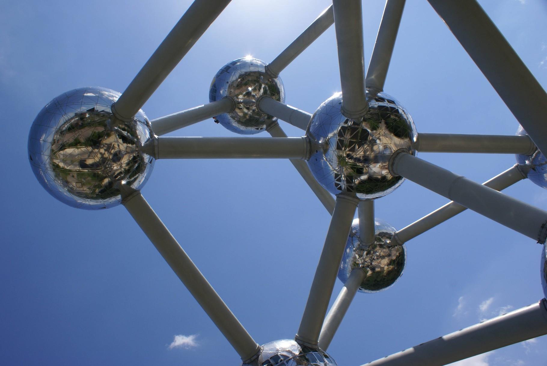 Brüssel - Atomium von unten