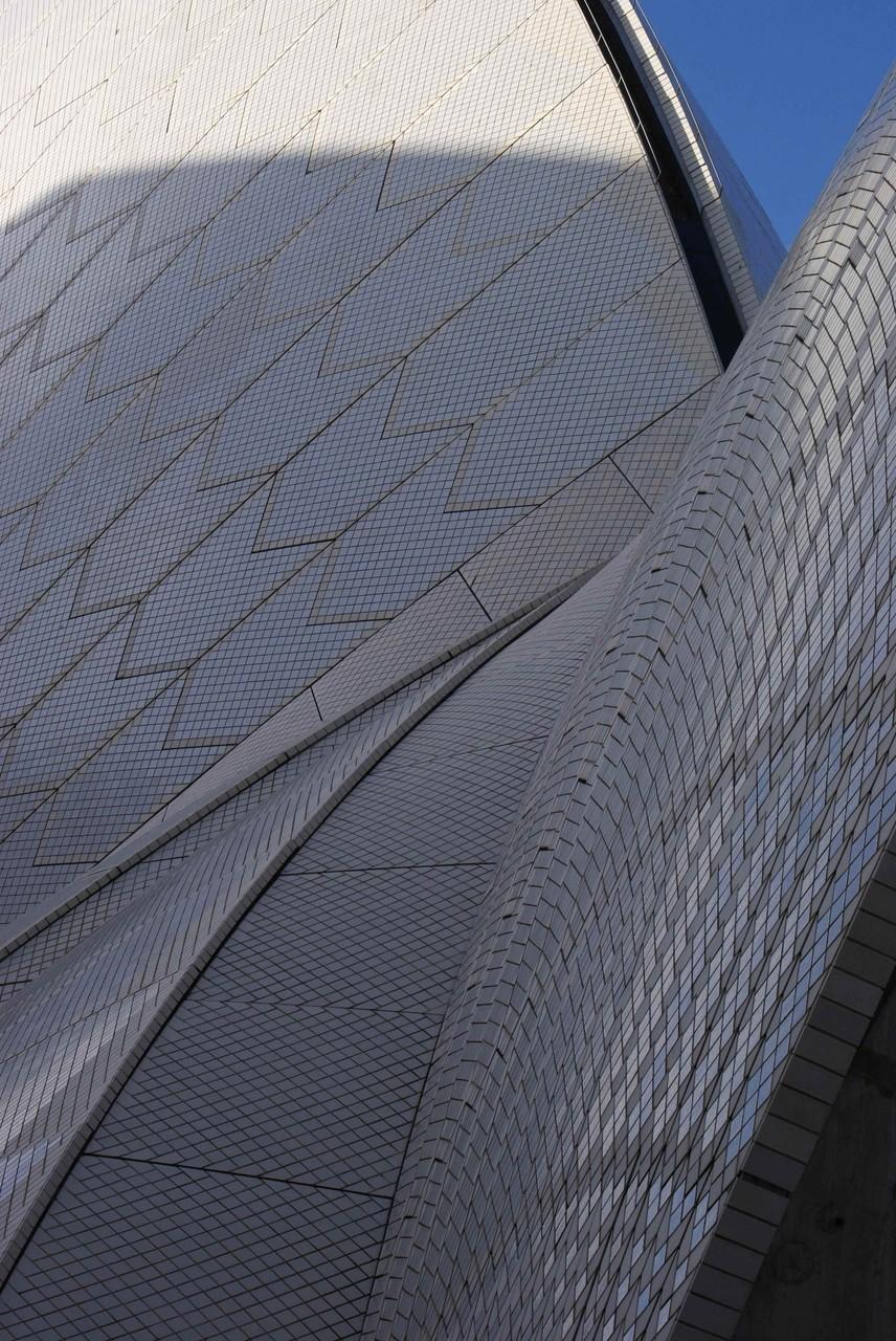 Oper in Sydney - selbstreinigende Kacheln