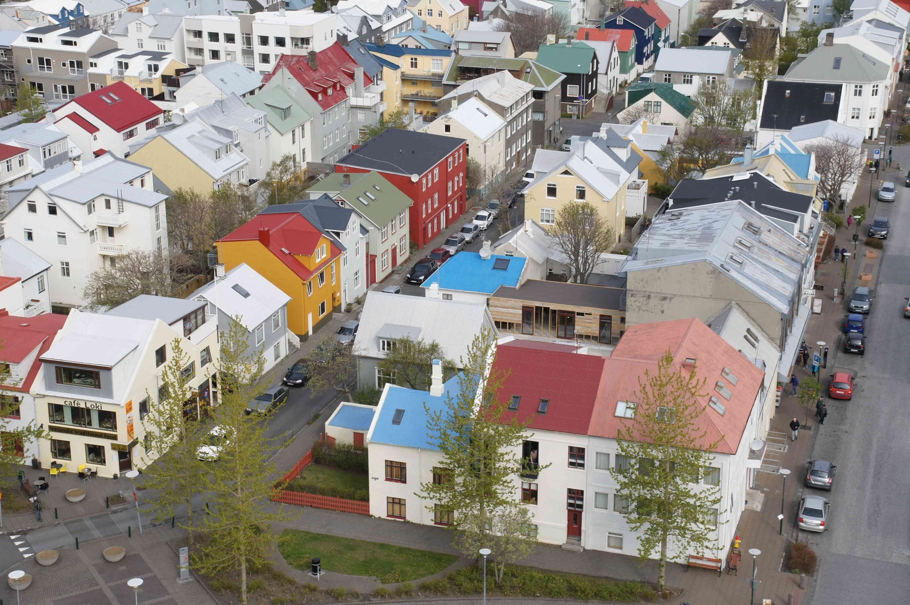 Reykjavík - angenehm bunt und lebendig