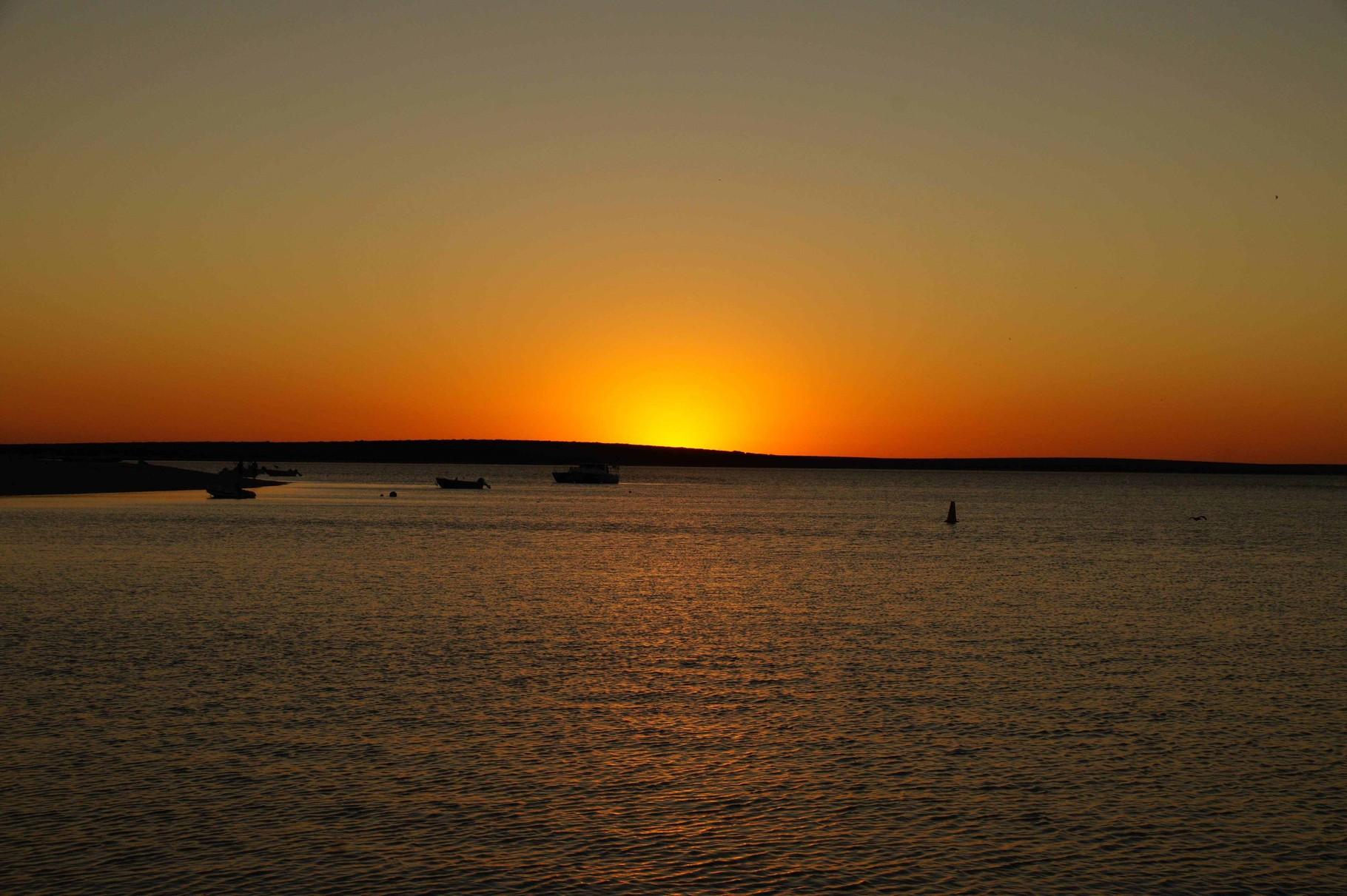 Sonnenuntergang in Mokey Mia, WA