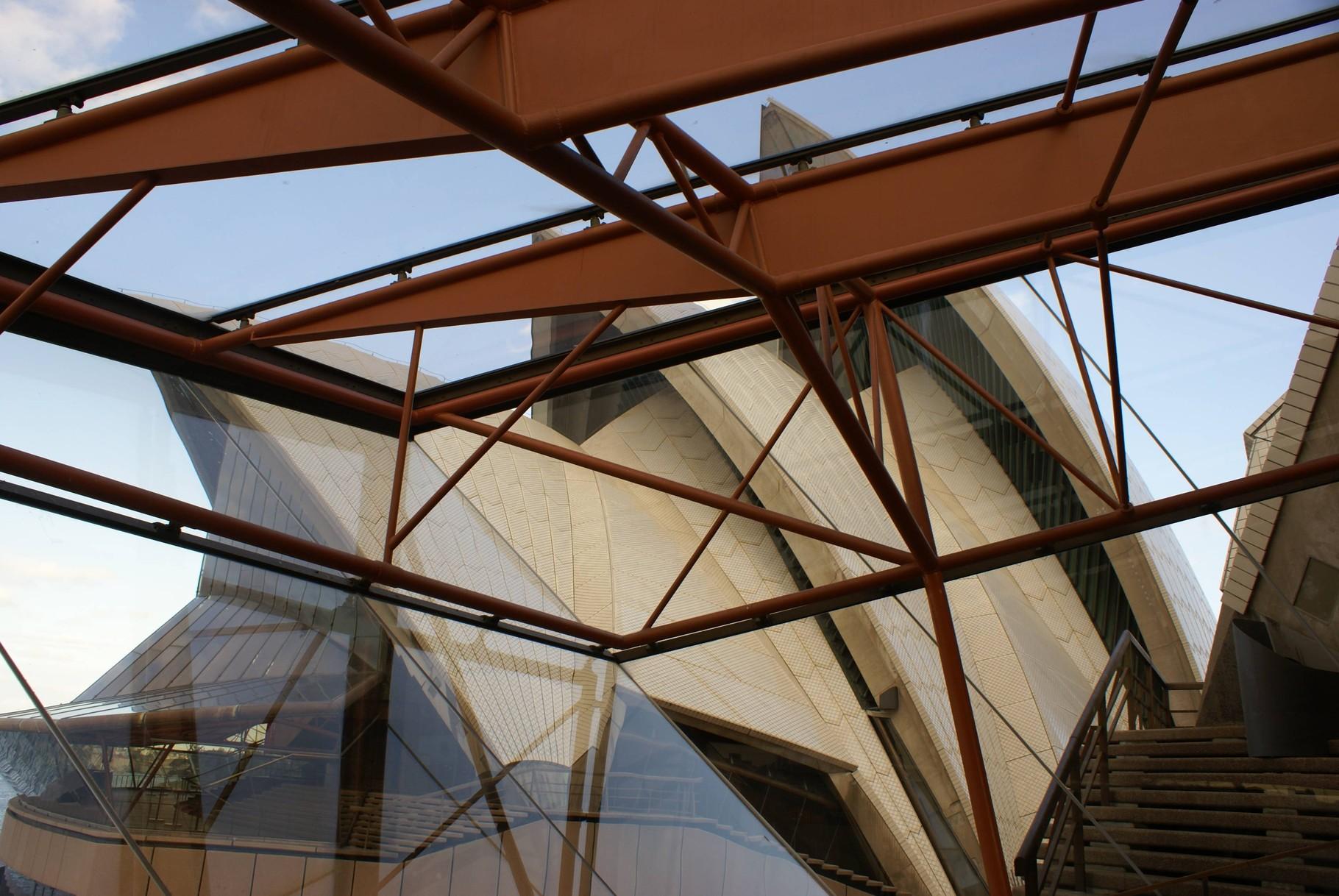 Oper in Sydney - Blick von Innen auf die Halbschalen