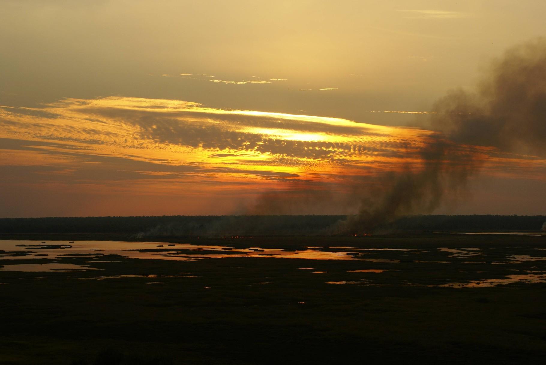 Sonnenuntergang im Kakadu NP, Northern Territory
