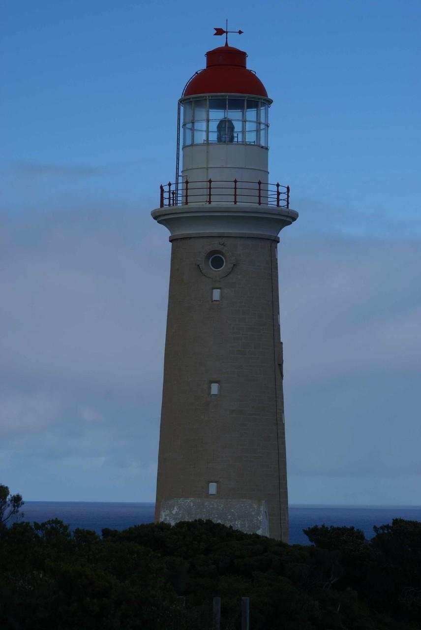 Leuchtturm im Flinders Chase NP auf Kangaroo Island, Australien