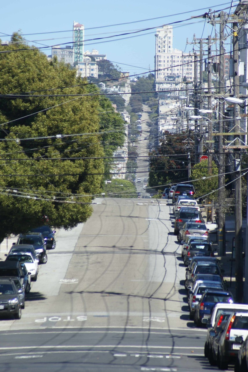 Straßenzug in San Francisco