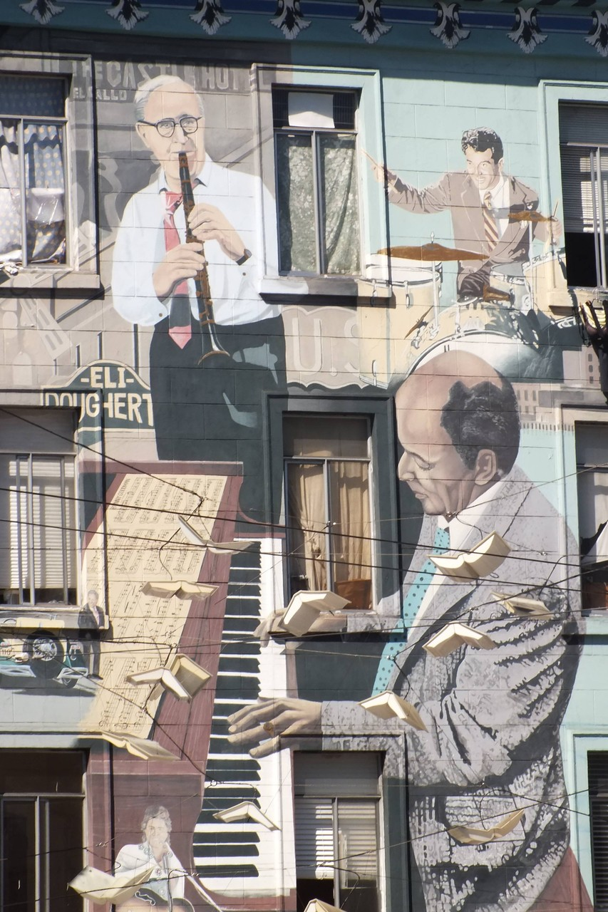 San Francisco - Hausbemalung der Extraklasse
