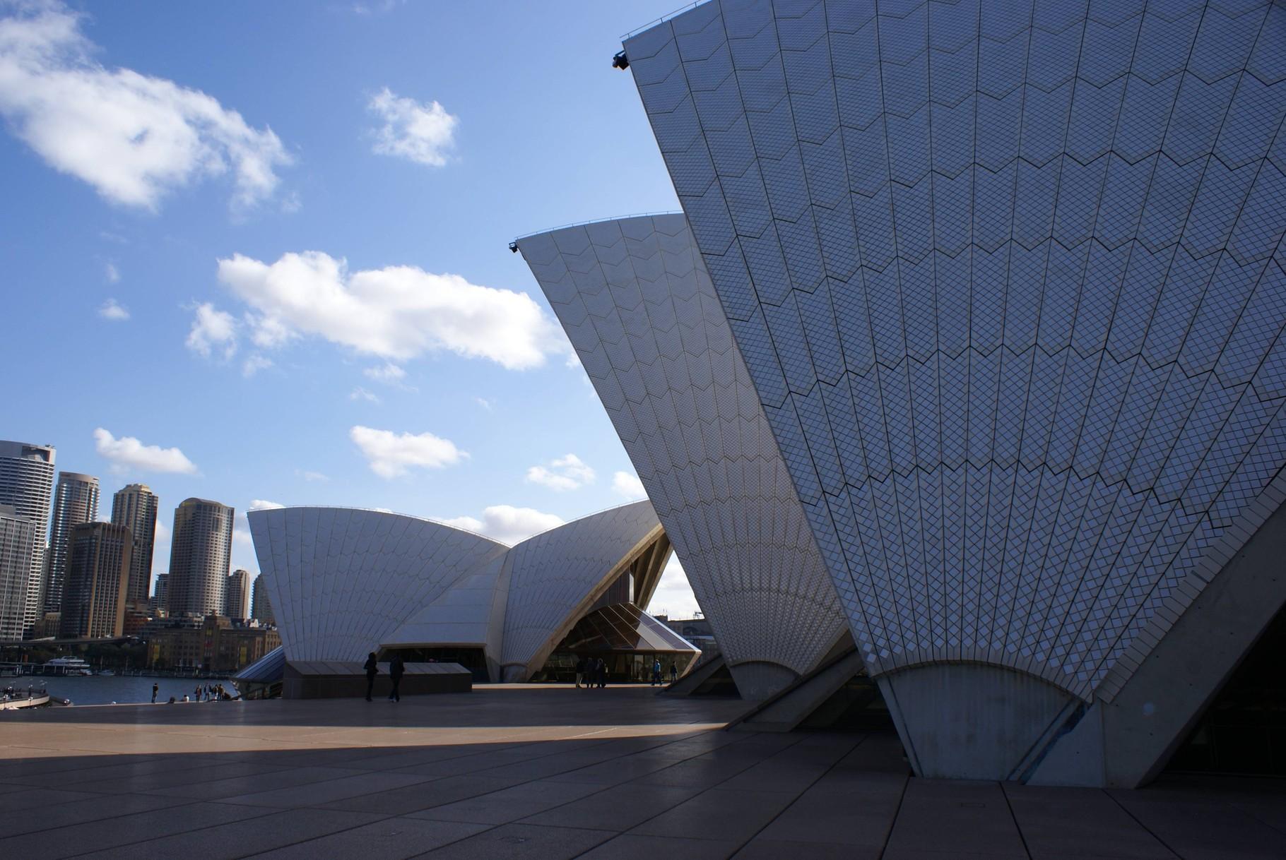 Oper in Sydney - Außenansicht
