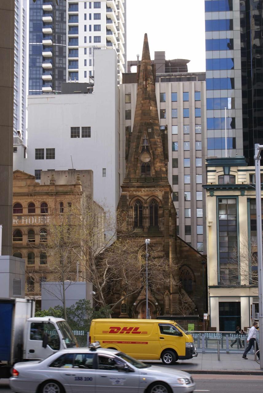 Gegensätze in Sydney