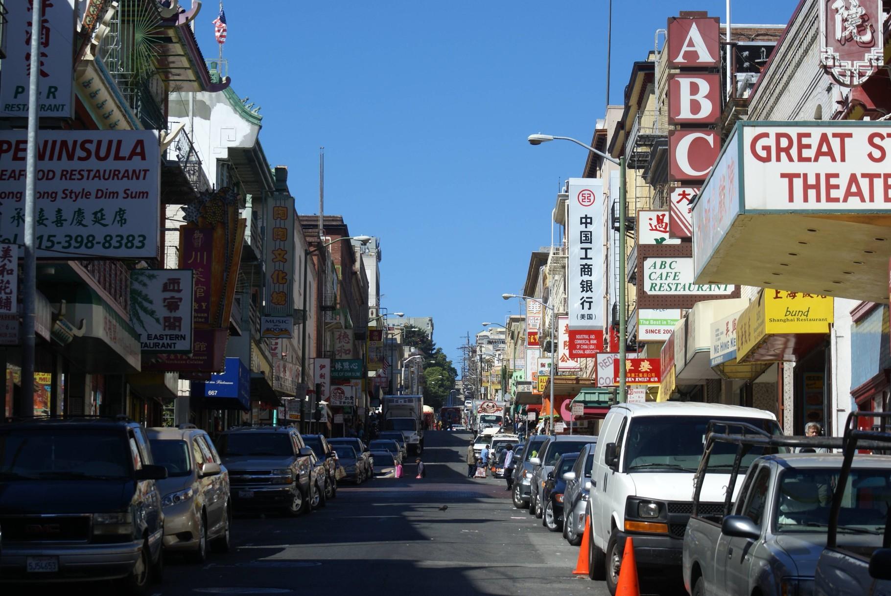 San Francisco - chinesischer Stadtteil
