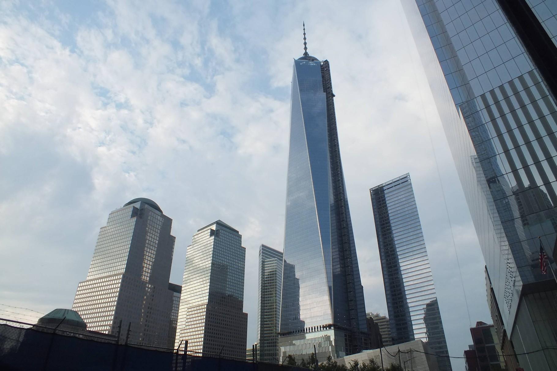 New York - Überbauung beim Ground Zero