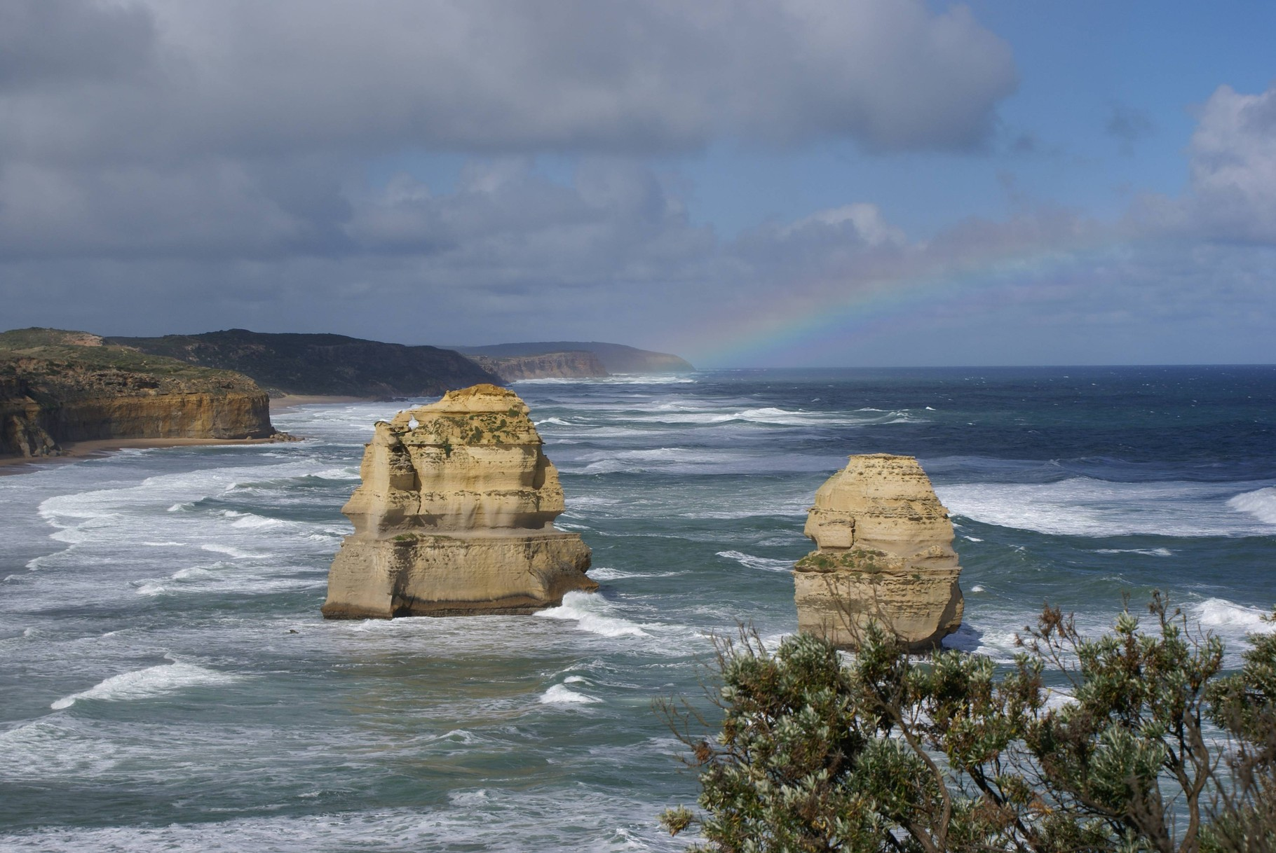 Regenbogen an der Great Ocean Road