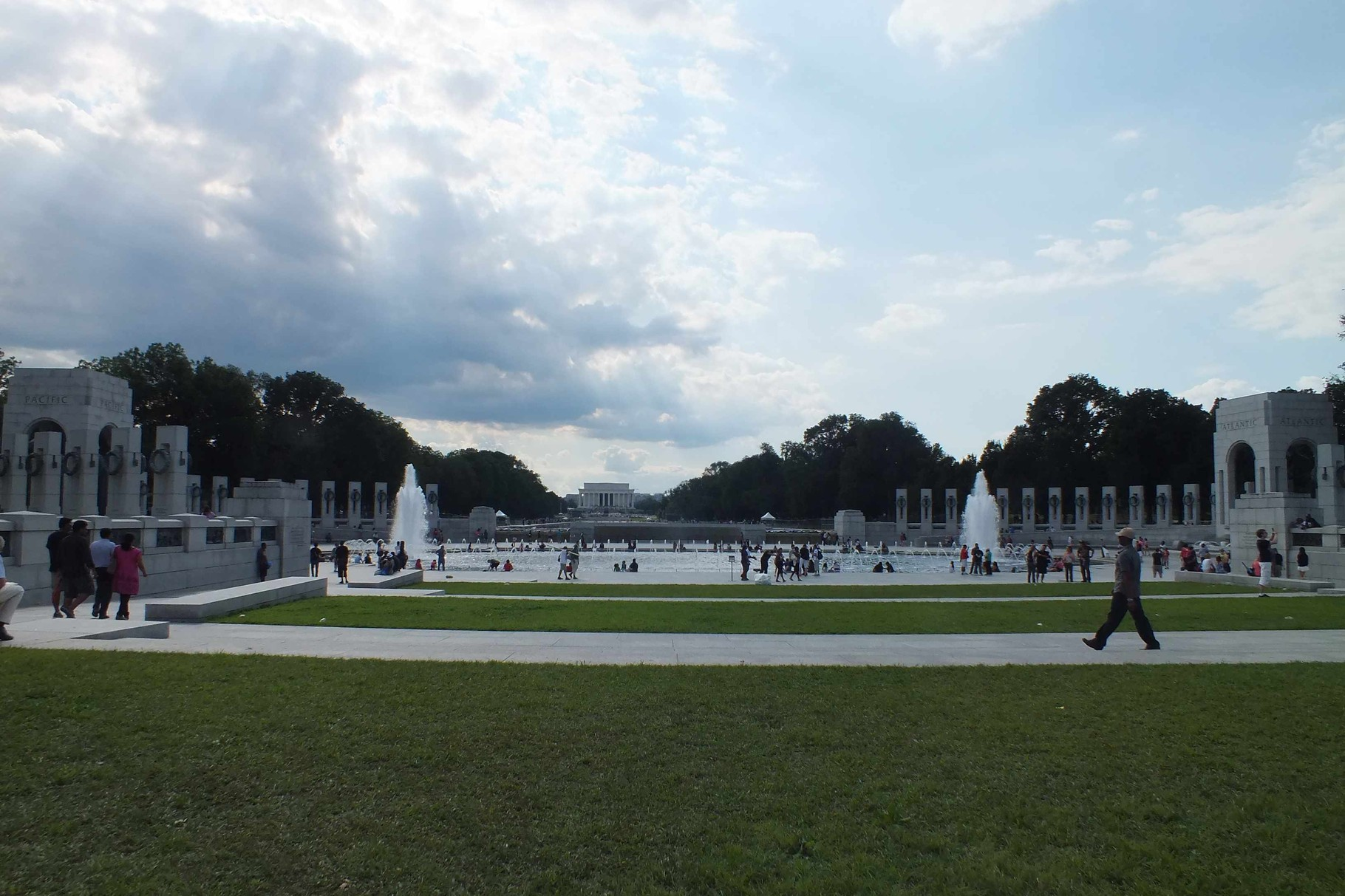Washington am Denkmal