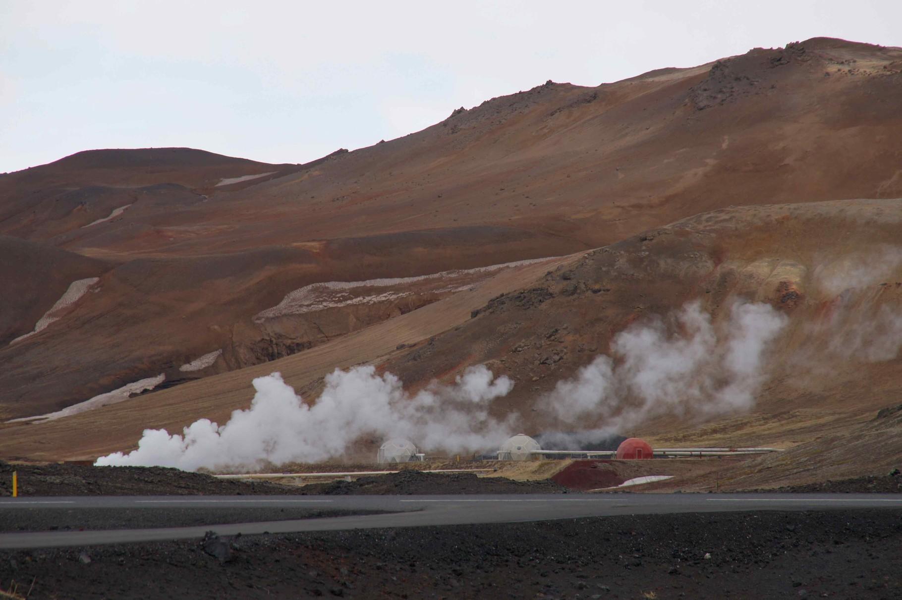 Geothermienutzung Krafla