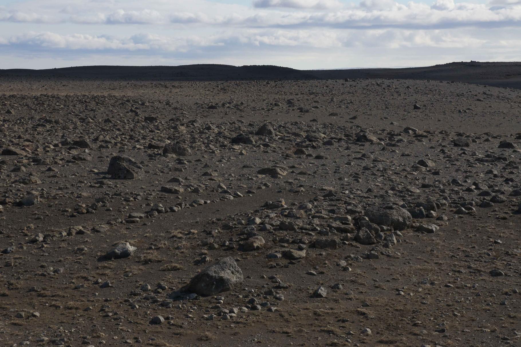 Steinwüste nördlich von Myvatn