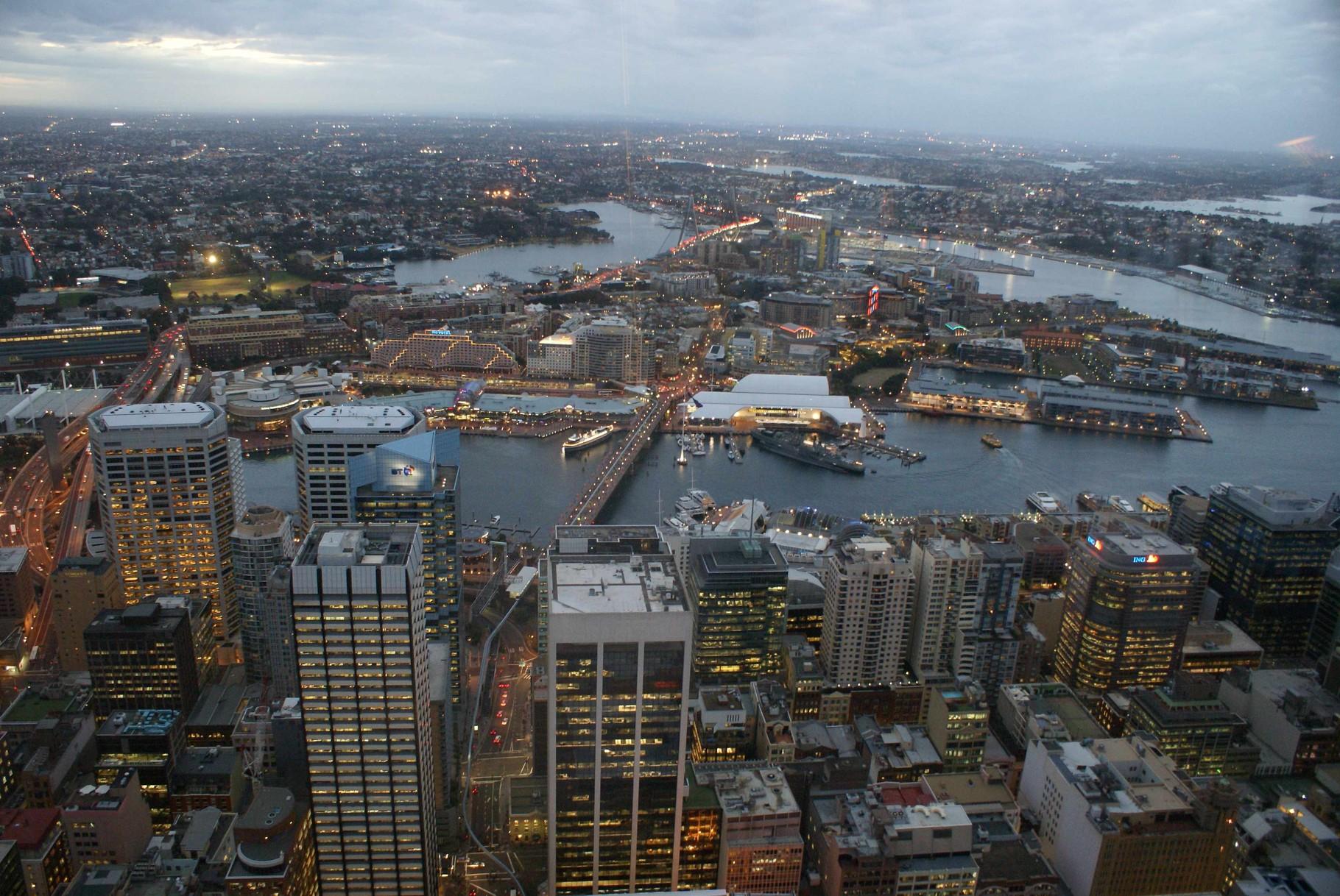 Sydney in der Abenddämmerung
