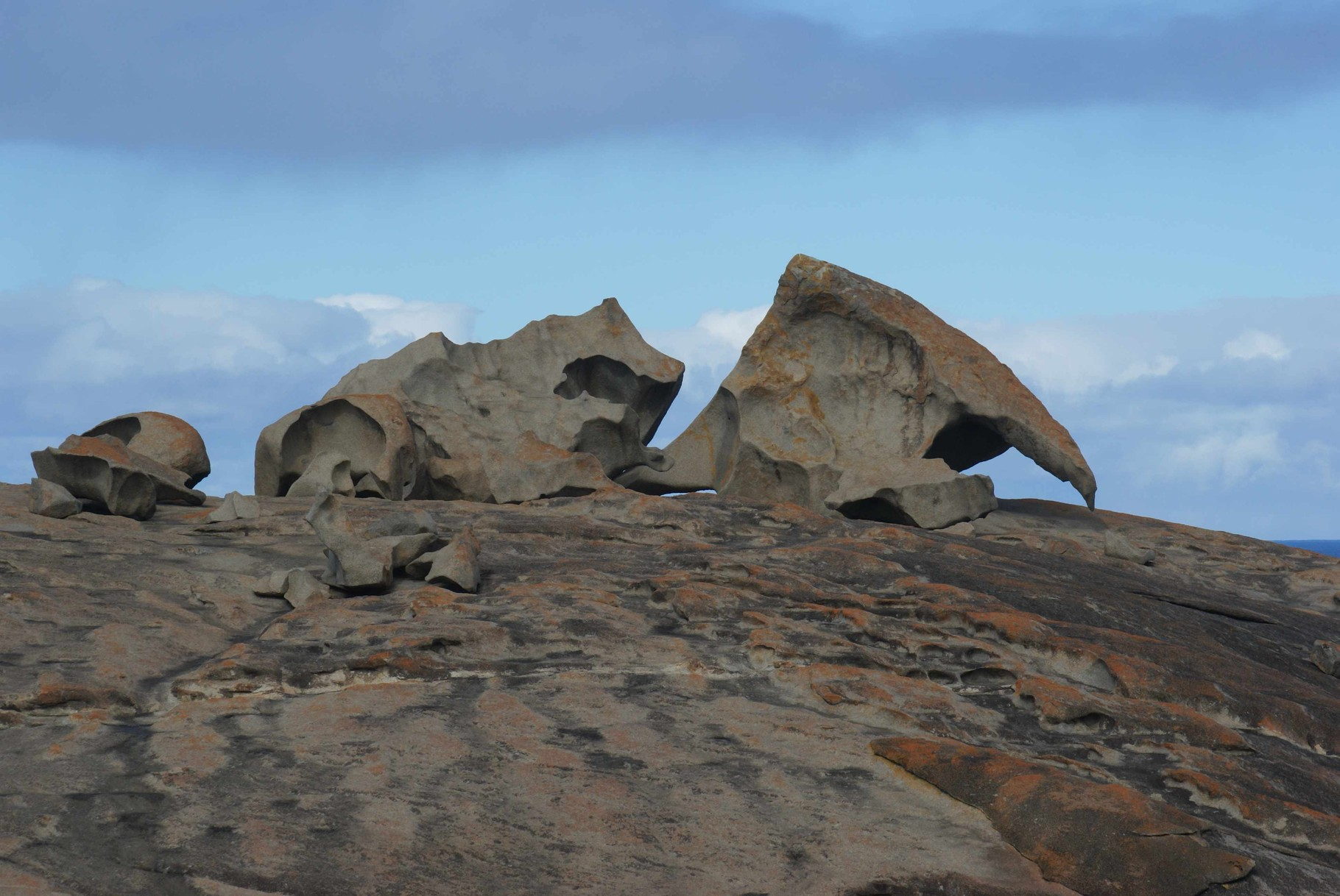 Tafoni auf Känguru Island