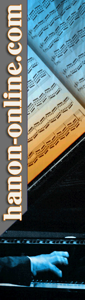Learn to play the piano with Hanon exercises at www.hanon-online.com