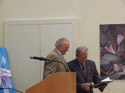 Il Rotary Club Mantova ha assegnato nel 2007 il riconoscimento PAUL HARRIS a Giovanna Gamba per la sua attività in BAMCO nel nome del tesoriere Luciano Chinaglia.