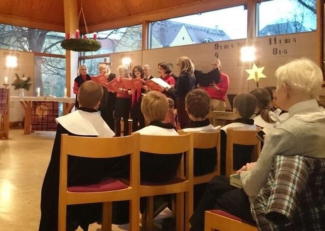 Musikalische Vesper mit Chor und Kurrende