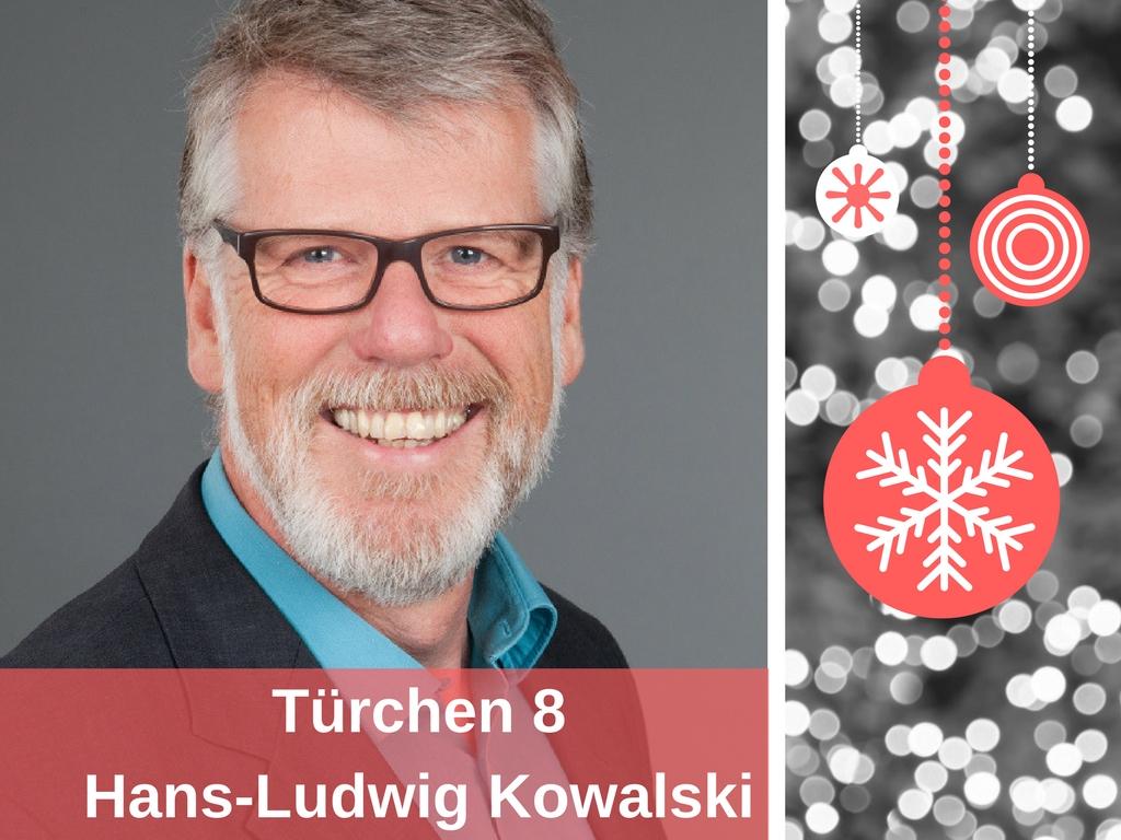 Hans-Ludwig Kowalski Coach bei Coachimo Adventskalender Gewinnspiel