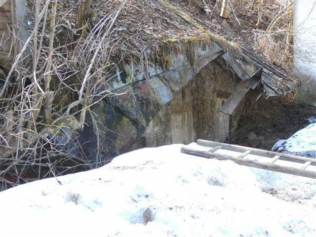 Die Eingänge im Winter 2009