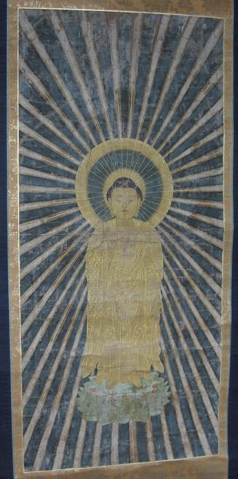 阿弥陀如来 本願寺九世実如(1458~1525)時代